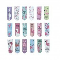 Set Of 18 Creative Exquisite Flamingo Pattern Bookmarks Office Supplies Gifts