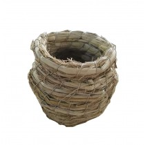 Birds Cages & Accessories--Grass Nests Breeding Nest Beads bird's Nest