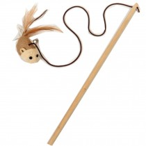 Interactive Educational Toy for Pet -- Natural Wooden Cat Toy [Mouselet]