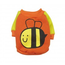 Hot Cartoon Puppy Apparel Pet Clothing Summer Dog Vest T-Shirt Littie Bee, M