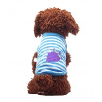 Cute Dog Clothes Fall And Winter Clothes Sweater Vest, Grape