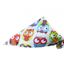 2 Pieces of Fashionable Cute Pets Triangle Scarves/Headscarf, Owl