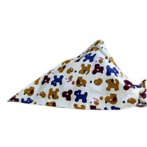 2 Pieces of Fashionable Cute Pets Triangle Scarves/Headscarf, Dogs