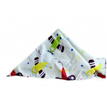 2 Pieces of Fashionable Cute Pets Triangle Scarves/Headscarf, Aircraft
