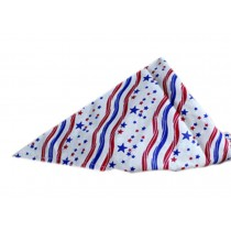 2 Pieces of Fashionable Cute Pets Triangle Scarves/Headscarf, Star