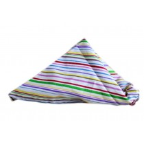 2 Pieces of Fashionable Cute Pets Triangle Scarves/Headscarf, Stripe