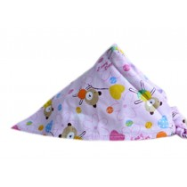 2 Pieces of Fashionable Cute Pets Triangle Scarves/Headscarf, Balloon