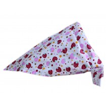 2 Pieces of Fashionable Cute Pets Triangle Scarves/Headscarf, Strawberry