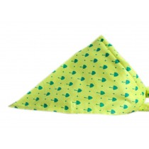 2 Pieces of Fashionable Cute Pets Triangle Scarves/Headscarf, Yellow