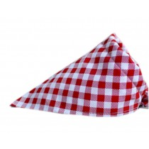 2 Pieces of Fashionable Cute Pets Triangle Scarves/Headscarf, Lattice