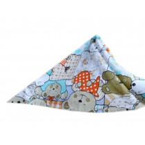 2 Pieces of Fashionable Cute Pets Triangle Scarves/Headscarf, Sleepy Bear