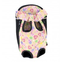 Portable Cute Travel Front Backpack Carrier Bag For Pets (Suitable for 0-2.5kg)