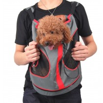 Nylon Chest Carrier Backpack Bag for Pets Dogs (28*29cm, Up to 8.8LB)