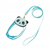 Cute Pet Leashes For Dog Puppy Pet Cartoon Bag Walking Leash BLUE, L