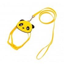 Cute Pet Leashes For Dog Puppy Pet Cartoon Bag Walking Leash YELLOW, L