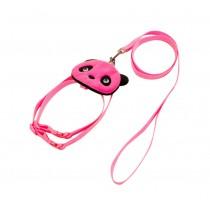 Cute Pet Leashes For Dog Puppy Pet Cartoon Bag Walking Leash PINK, L