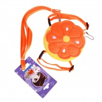 Creative Design Backpack Style Pets Harness Supplies Pumpkin Style M Size
