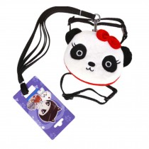Backpack Style Cute Panda Pattern Pets Leash Collar and Harness Supplies M