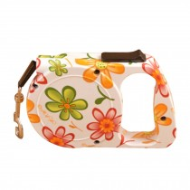 Flower Design Retracted Harness Supplies Portable Pets Leash Collar 3m