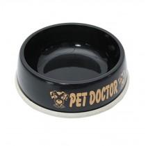 Environmental Skidproof Pet Bowl Dogs Cats Bowl Pet Supplies, Black, S (16X5CM)