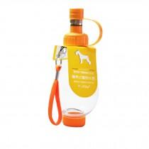 Pet Kitten Puppy Travel Water Bottle,Portable Water Bottle,200ML,SWEET ORANGE