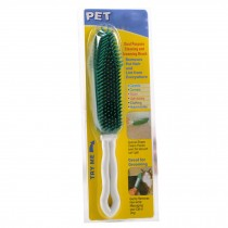 Pet Cleaning Supplies-Cat/Dog Long Handle Rubber Grooming Brush,Random Colors