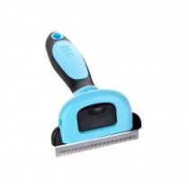 (Blue)Suitable For Cats Useful Paddle Brush/Grooming Comb