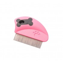 Pink,2Pcs For Cats/Dogs Useful Pet Flea Combs/Grooming Comb