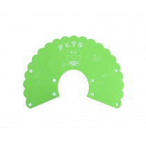 Pet Soft Cone Elizabeth Protective Collar Anti-scratch Protection Cover GREEN