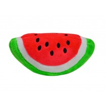 Set of 2 Creative Dog Clean Teeth Chew Toy With Sound,Watermelon Rectangle