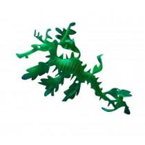 Creative Emulational Sea Dragon Aquarium Ornament, Green