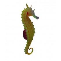 Set of 2 Creative Emulational Sea Horse Aquarium Ornament, Orange