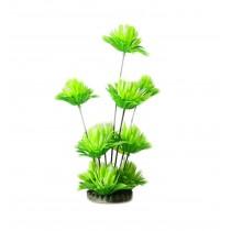 Emulational Plants Aquarium Decor Fish Tank Decoration,Green Flower