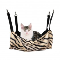 High-quality [Faddish Zebra-stripe] Soft Dog Cat Pet Bed,Cat Hammock(50*38CM)