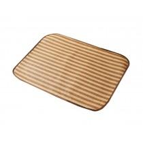 Soft Pet Dog Bed Mat Simple Pet Floor Mat Classic Stripes, 44*34cm