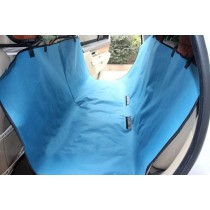 """Waterproof Solid Color Bench Seat Dog Car Seat Cover Blue- Fit Most: 57""""Wx57""""L"""