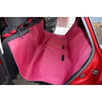 """Waterproof Solid Color Bench Seat Dog Car Seat Cover ROSE (57""""Wx57""""L)"""