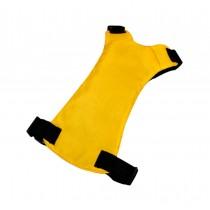 Convenient Simple Dog Car Vest Harness Pet Safety Seat Belt YELLOW, XL