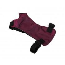 Convenient Simple Dog Car Vest Harness Pet Safety Seat Belt PURPLE, XS