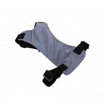 Convenient Simple Dog Car Vest Harness Pet Safety Seat Belt GRAY, S