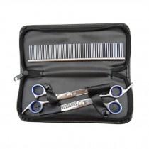 High-grade Pet Home Grooming Kit--Pet Scissor/Thinning Shear Set,4-piece