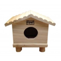 Lovely Small Pet Hamster Wooden House/Bedroom Accessories