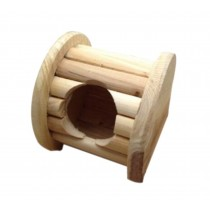 Small Pet Hamster Wooden House/Bedroom Accessories, Column