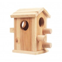 Ornate Small Pet Hamster Wooden House/Bedroom Accessories
