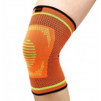 Professional Sports Kneepad Running Anti-wear Breathable Knee Brace, Orange