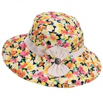 Beach Hat Breathable Hat Summer Ms. Collapsible Sun Hat UV Large Brimmed