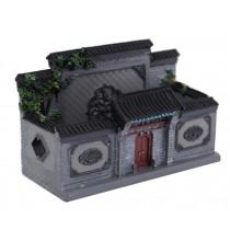 Features Building Decoration Art Crafts Practical Desk Card Case Building Model