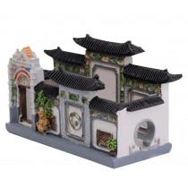 Building Model Features Building Decoration Art Crafts Practical Desk Card Case