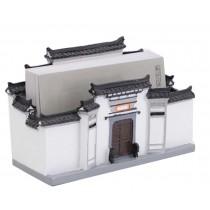 Features Building Model Building Decoration Art Crafts Practical Desk Card Case