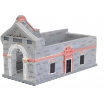 Card Case Building Model Building Decoration Art Crafts Practical